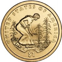 2009-D Native American Dollar Coin
