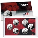 2009 State Quarter Silver Proof Set