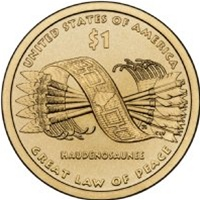2010-S Native American Dollar Great Law of Peace