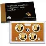 2012-S Presidential Dollar Proof Set