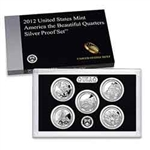 2012 National Park Quarter Silver Proof Set