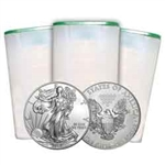 American Silver Eagle Rolls for 2018