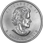 2012 Canadian 1 oz. Silver Maple Leaf