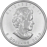 2013 Canadian 1 oz. Silver Maple Leaf