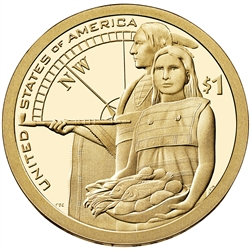 2014-S Proof Native American Dollar