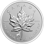 2015 Canadian Maple Leaf Silver Coins Sheep Privy