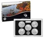 2017 National Park Quarter Silver Proof Set
