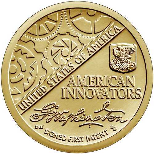 2018-D First Patent American Innovation Dollar Coin