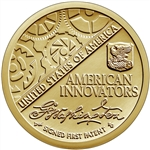 2018-P First Patent American Innovation Dollar Coin