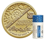 2018-P First Patent American Innovation Dollar Roll