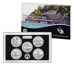 2018 National Park Quarter Silver Proof Set