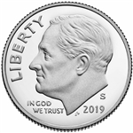2019-S Silver Proof Roosevelt Dime