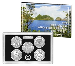 2020 National Park Quarter Silver Proof Set