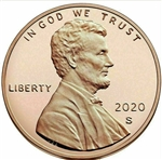 2020-S Proof Lincoln Cent