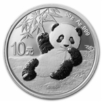 2020 Chinese Silver Panda Coins