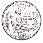 Alabama State Quarter 2003-D