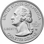 2019-W American Memorial National Park Quarter