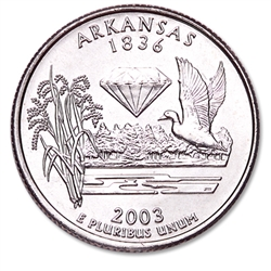 Arkansas State Quarter 2003-P