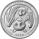 2020-S American Samoa National Park Quarter