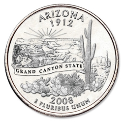Arizona State Quarter 2008-D