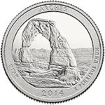 2014-S Arches America the Beautiful Quarter