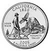 California State Quarter 2005-P