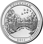 Chickasaw National Park Quarter