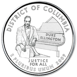 District of Columbia U.S. Territory Quarter 2009-P