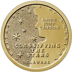 2019-P Delaware Innovation Dollar Annie Jump Cannon
