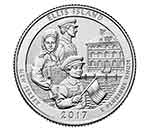 2017-P Ellis Island National Park Quarter