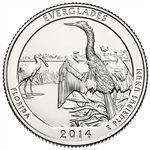2014-D Florida Everglades National Park Quarter