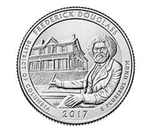2017-D Frederick Douglass National Park Quarter