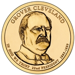 Grover Cleveland Presidential Dollar Roll 1st Term