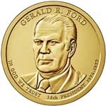Gerald Ford Presidential Dollar Coins