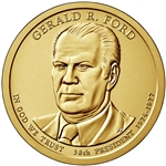 2016-P Gerald Ford Presidential Dollar Roll