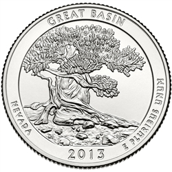 2013-S Great Basin America the Beautiful Quarter
