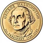 2007-P George Washington Presidential Dollar