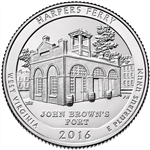 2016-P Harper's Ferry National Park Quarter