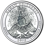 America the Beautiful Quarters Hawaii Volcanoes