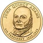 2008-D John Quincy Adams Presidential Dollar