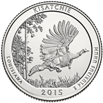 2015-P Kisatchie National Park Quarter