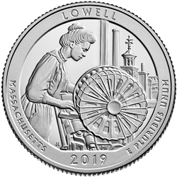 2019-S Lowell Historic National Park Proof Quarter