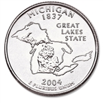 Michigan State Quarter 2004-D