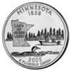 Minnesota Proof State Quarter 2005-S