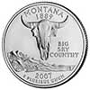 Montana Proof State Quarter 2007-S