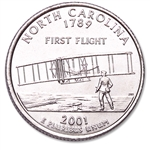 North Carolina State Quarter 2001-D