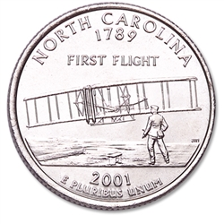 North Carolina State Quarter 2001-P