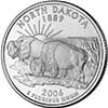 North Dakota State Quarter 2006-D