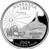 Nebraska Proof State Quarter 2006-S