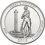 2013-S Perry's Victory America the Beautiful Quarter